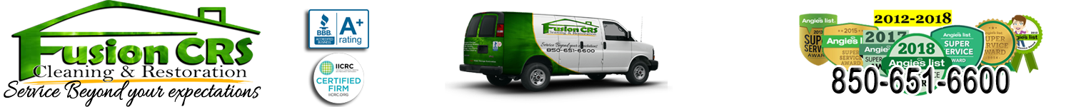 Fusion Cleaning And Restoration 850-651-6600 Logo